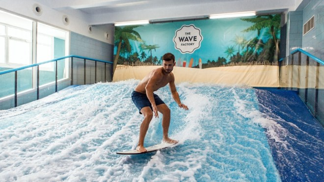 fare surf indoor a lisbona