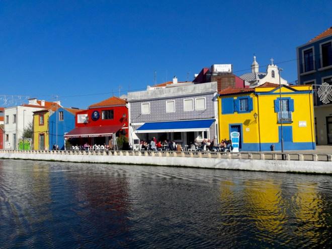 città colorata portogallo