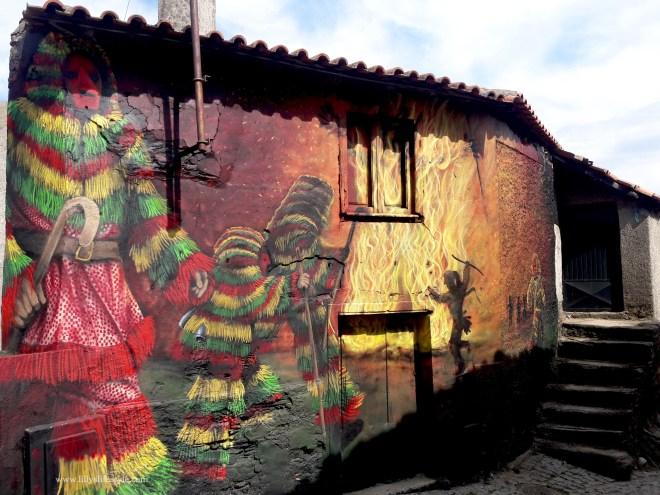 murales arte urbana podence portogallo
