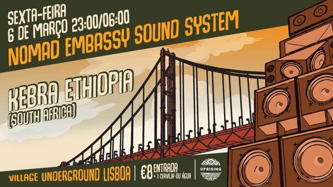 concerto Kebra Ethiopia Soundé lisbona portogallo