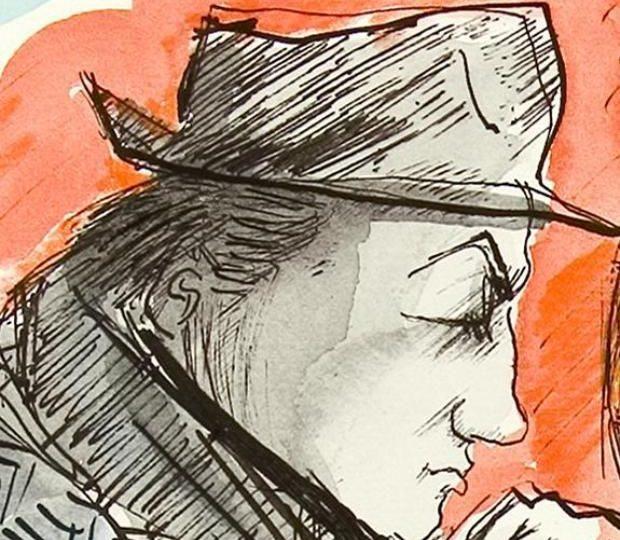 Il cibo nei disegni di Federico Fellini