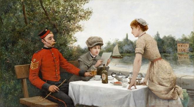 tè nell'arte