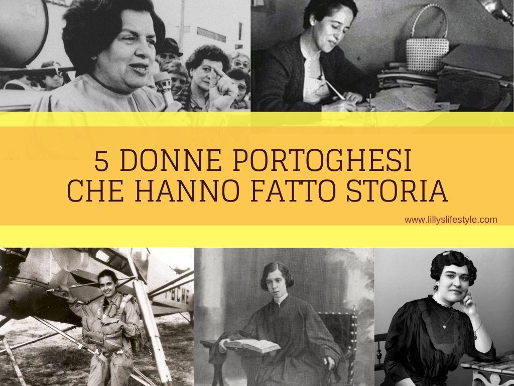 donne portogallo che hanno fatto storia