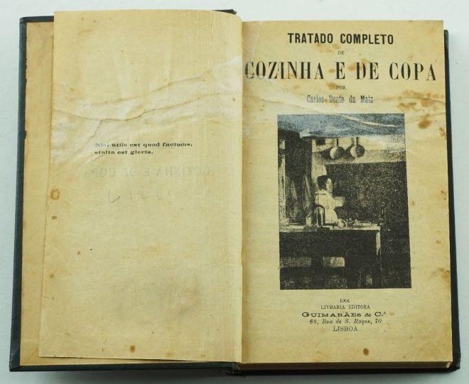 antico libro ricette portoghesi