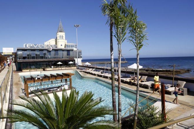 piscine di mare vicino lisbona