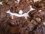 Chocolate White Chocolate Cookies