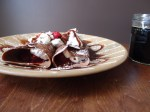 Mexican Chocolate Beer Crepes