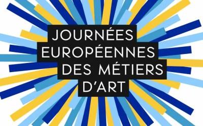 Les Journées Européennes des Métiers d'Art auront lieu du 3 au 8 Avril 2018