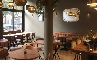 Aménagement de restaurant et café : Le Mancuso