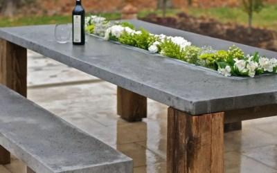 Table en béton ciré : 7 looks incroyables !