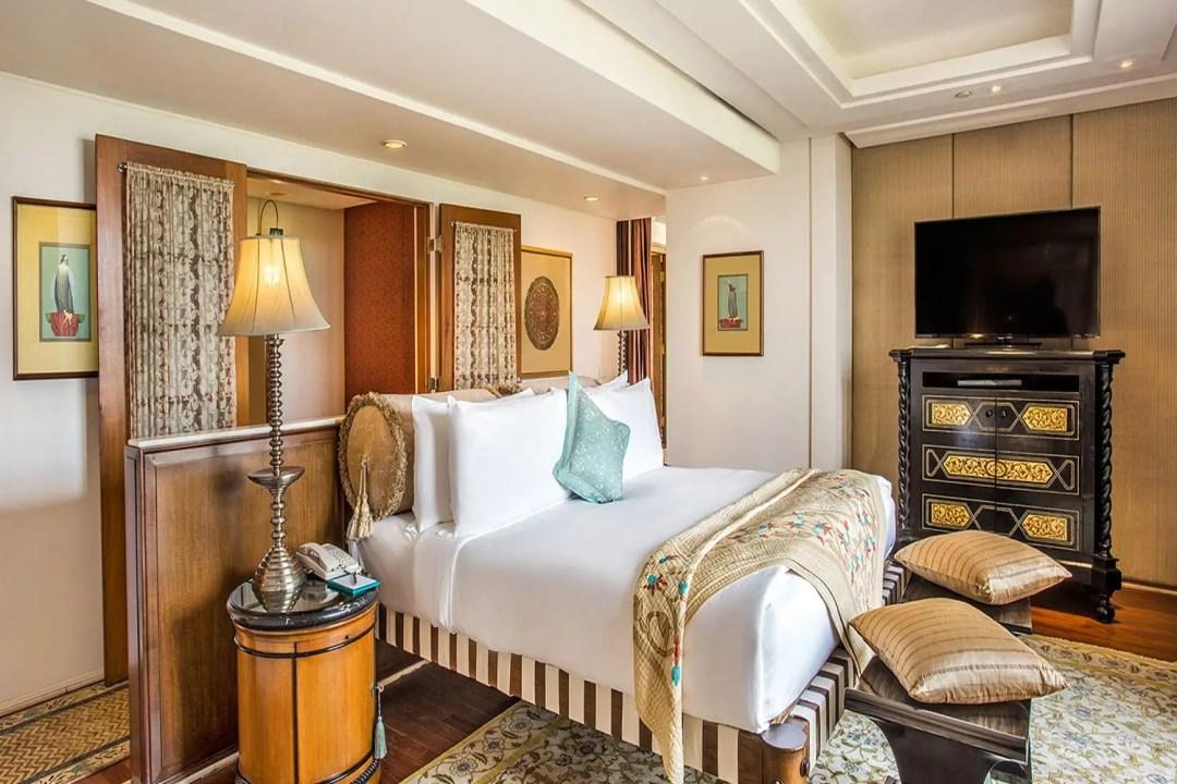 Une déco d'hôtel de luxe digne d'un Maharaja
