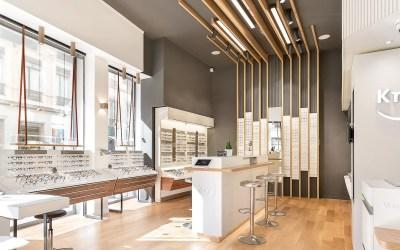 Aménagement boutique : KRYS et le studio Eskarpé font confiance aux artisans LILM