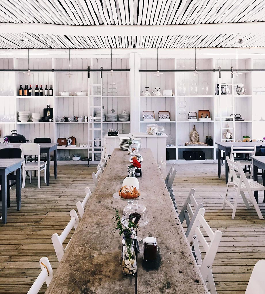 table bois rustique monumentale