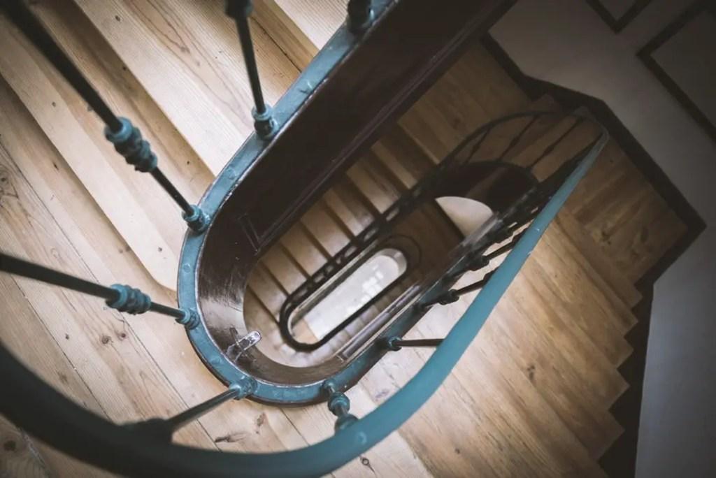 escalier en bois de classe 1