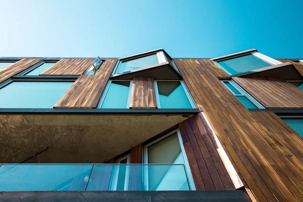 façade en bois 3ème au classement