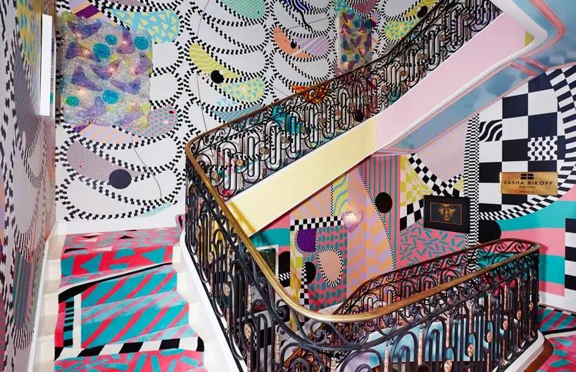 Ces escaliers représentent les idéals du maximalisme.