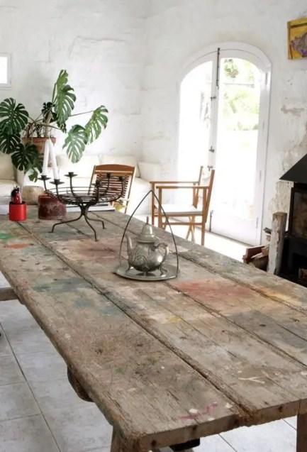 table style atelier de peinture