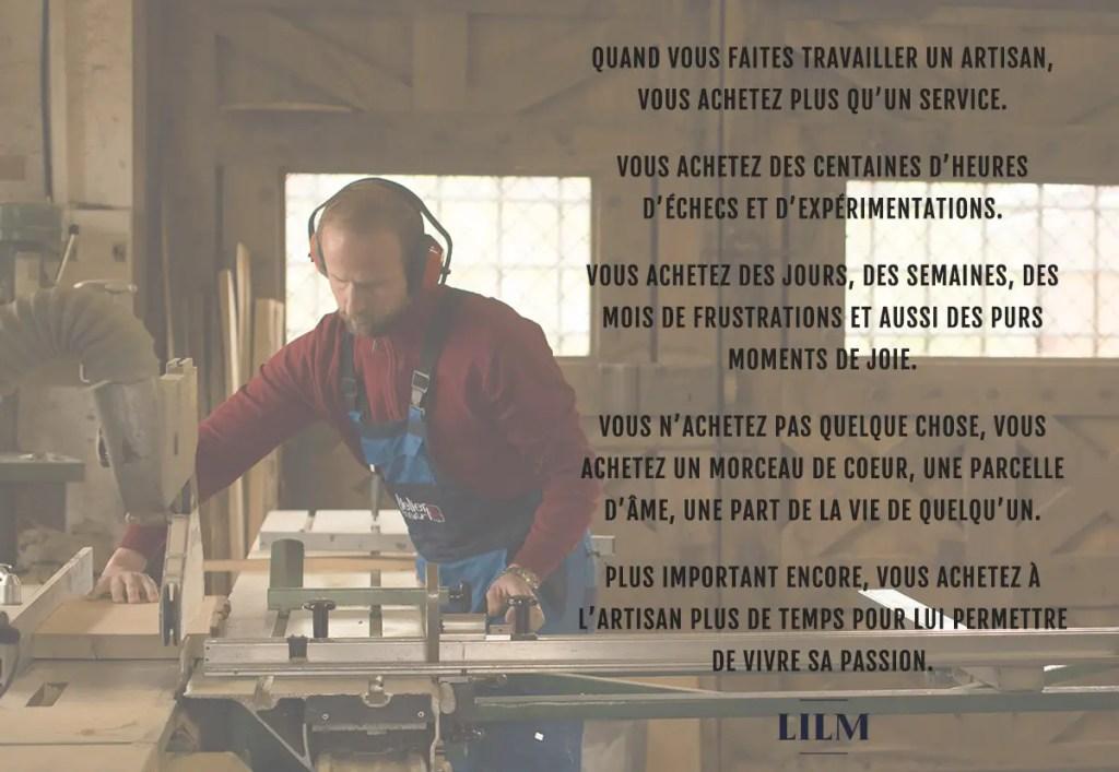 mantra de LILM sur l'artisanat