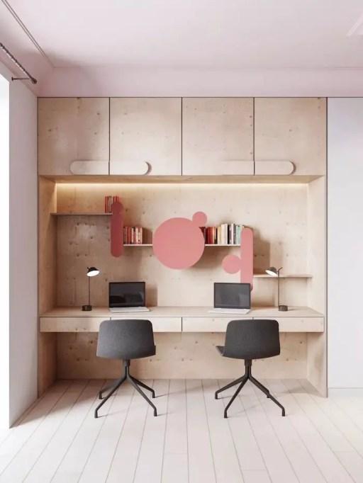 Bureau mural : l'espace de travail optimisé