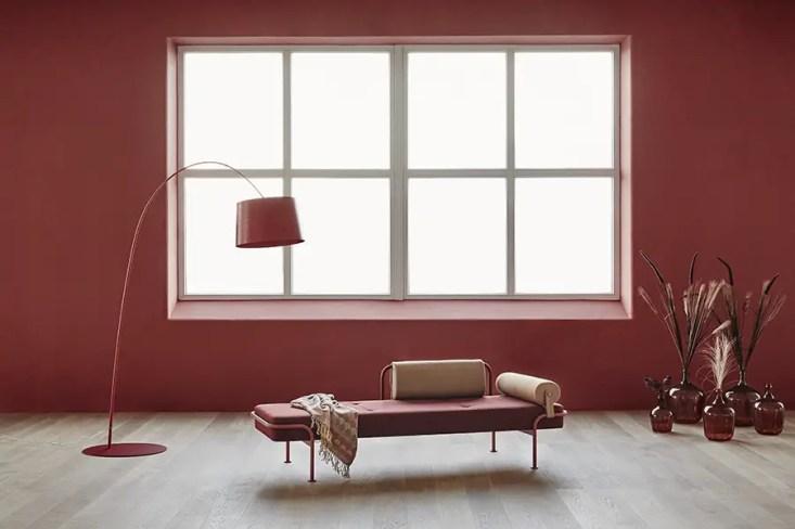 daybed vintage rouge