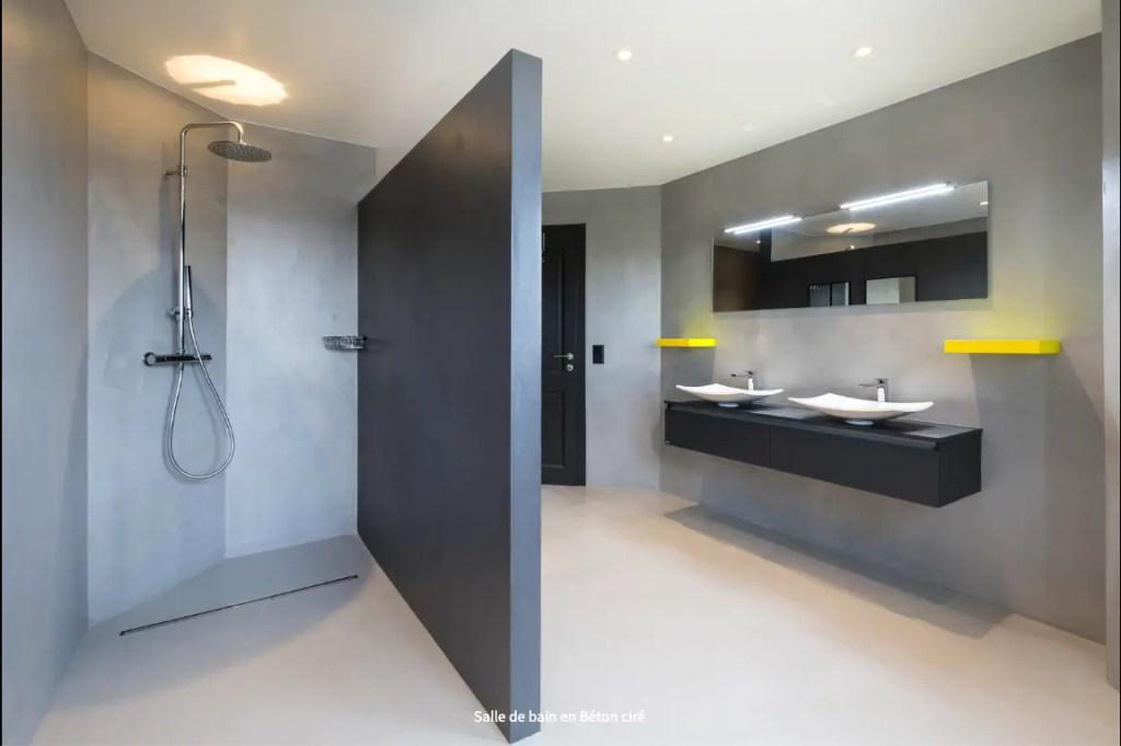 Quel béton ciré choisir pour une salle de bain ?