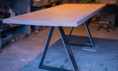 Table industrielle artisan