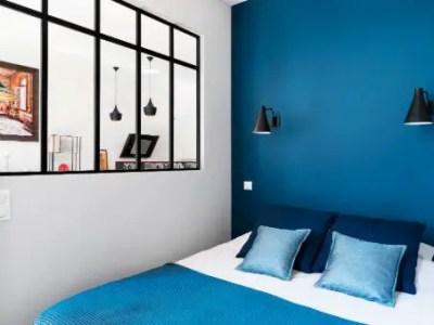 Verrière chambre simple avec traverse