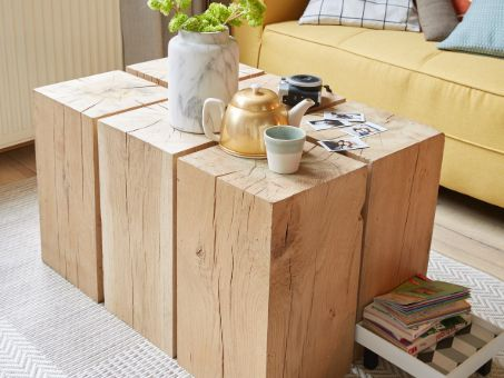table rectangle en bois