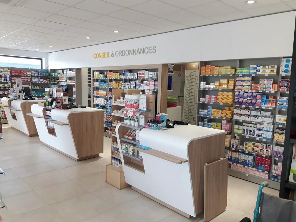 comptoirs pharmacie