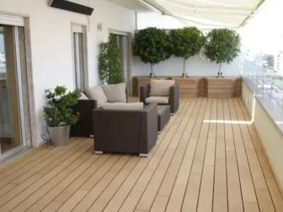 Terrasse en bois Balcon