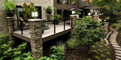 Garde-corps en métal terrasse extérieur