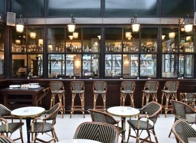 Comptoir de bar sur-mesure pour restaurant