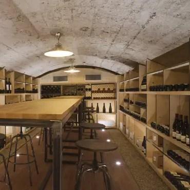Cave à vin traditionnelle sur-mesure