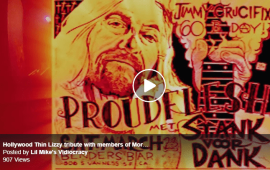 Proudflesh Thin Lizzy Tribite