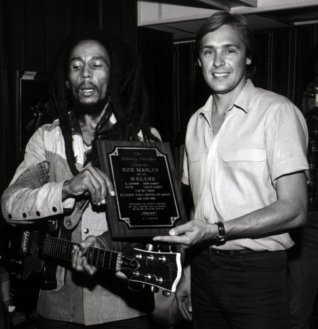 Bob Marley with Rich Engler