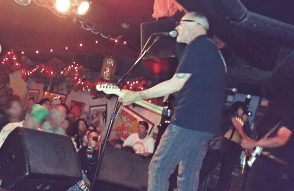 Chip Kinman live on stage in San Francisco 7 20 2019 at Bottom Of The Hill