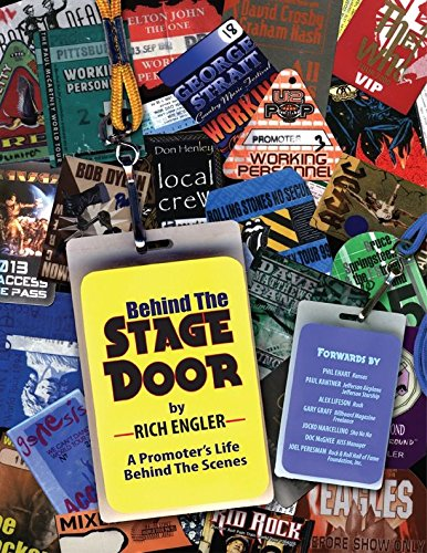 Rich Engler's Behind The Stage Door Memoir