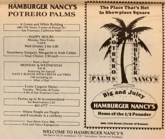 Hamburger Nancy's