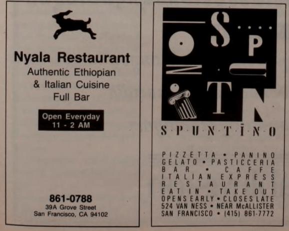 Nyala Ethiopian Restaurant on Grove Street