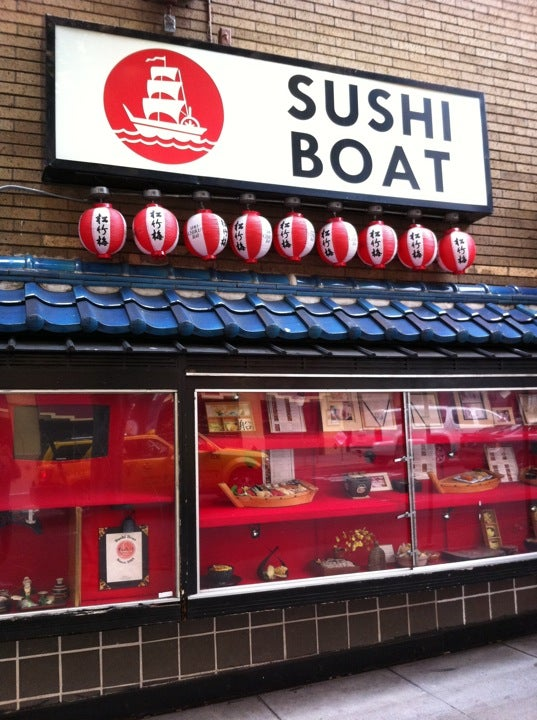The defunct Sushi Boat at Union Sq