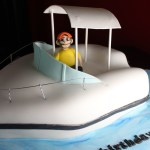 Fishing Boat Cake