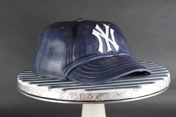 Yankee Baseball Hat Cake