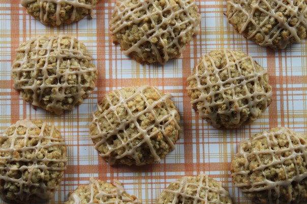 Banana Oatmeal Muffin Top Cookies
