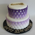 Purple Ombre Sugar Hearts