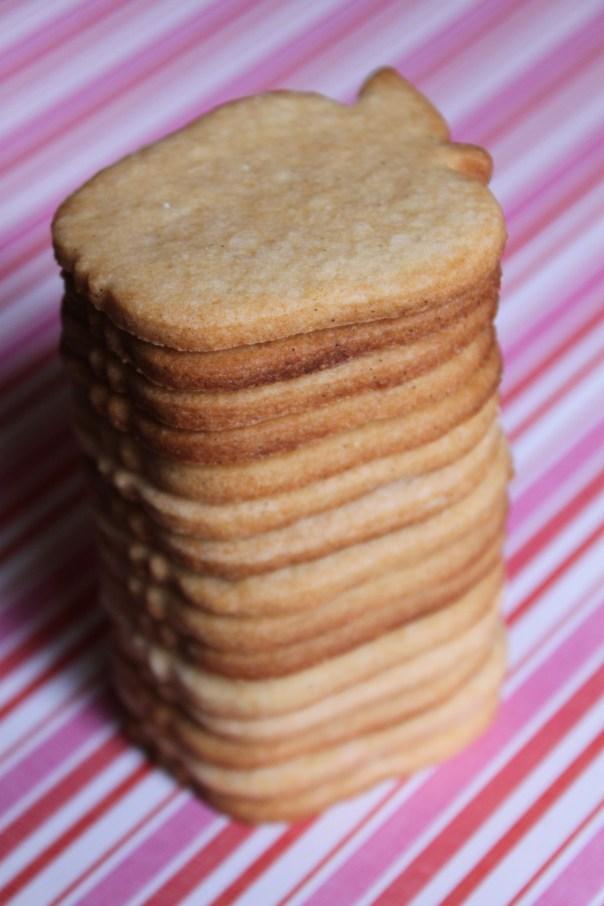 Stack of Honey Sugar Cookies