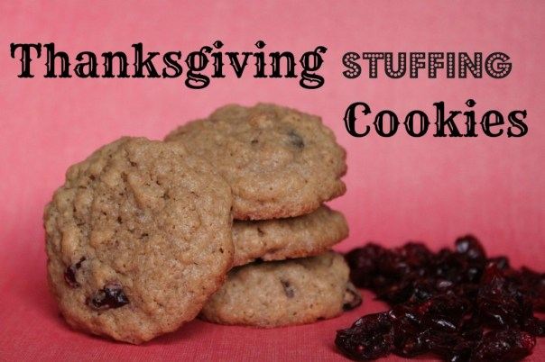 Thanksgiving Stuffing Cookies