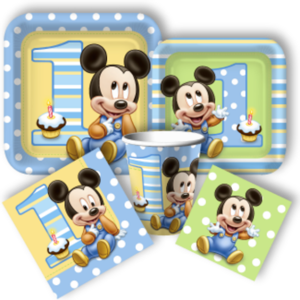 Baby Mickey Tableware