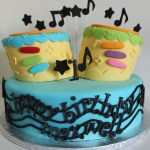 Toy Drum Birthday Cake