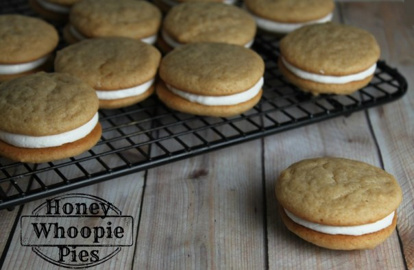 Honey Whoopie Pies