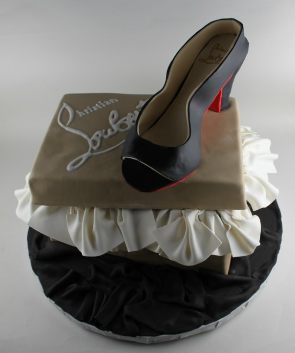 Red Sole Shoe Cake